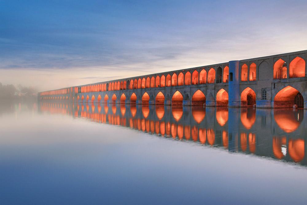 Zayende Nehri ve Siosepol Köprüsü